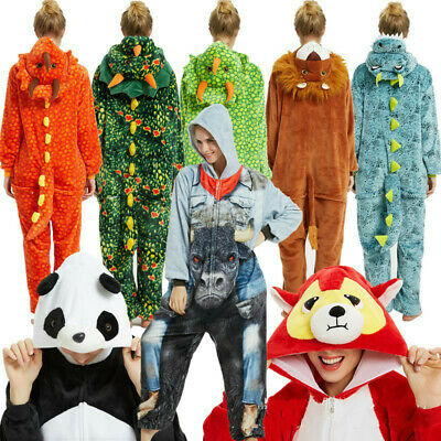 New Neutral Cartoon Animal Disney Adult Onesie0 Kigurumi Cosplay Pajamas Costume • 18.36£