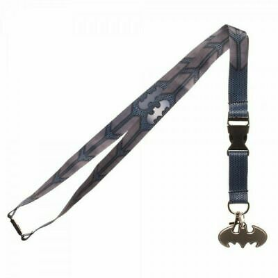$6.99 • Buy Batman Suit Up Style ID Holder Lanyard Keychain With Charm