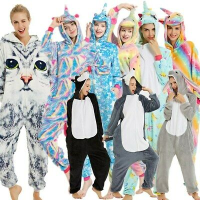 Halloween Unisex Adult Cartoon Animal Kigurumi Cosplay Onesie0 Pajamas Costume • 18.36£