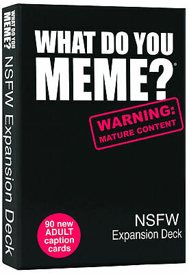 AU26.90 • Buy What Do You Meme? Nsfw Expansion Deck  - BRAND NEW