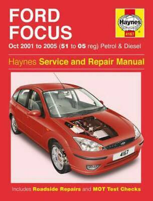 Haynes Service And Repair Manual Series: Ford Focus Petrol & Diesel Service & • 9.26£