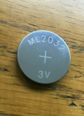 AU11.07 • Buy NEW ML2032 ML 2032 Rechargeable CR2032 CR 3V Coin Button Cell Battery Batteries