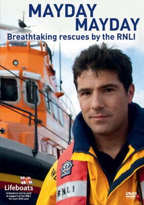 Mayday Mayday - Breathtaking Rescues By The RNLI DVD (2012) Cert E Amazing Value • 6.98£