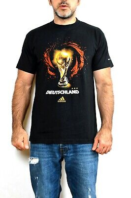 Adidas 2006 Fifa World Cup GERMANY Official Product Black DEUTSCHLAND M • 19.99£