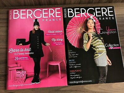 Bergere De France Knitting Pattern Magazines X 2 (29 And 51 Patterns) • 5.50£