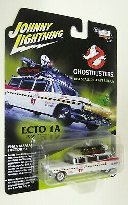 Autoworld 1/64 Scale - Ghostbusters Ecto 1 Cadillac Ambulance Diecast Model Car • 17.99£