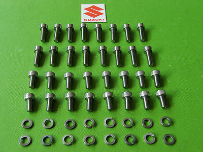 Suzuki Carburetor Carb Stainless Steel Screw Kit Gs1150 Gs1100 Gs1000 Gs750 Bolt • 11.99$