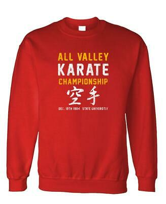 $23.99 • Buy ALL VALLEY KARATE CHAMPIONSHIP - 80's - Fleece Sweatshirt