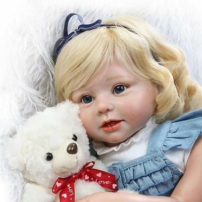 $ CDN162.12 • Buy Newborn Doll 28inch Reborn Dolls+Clothes Handmade Realistic Alive Princess Baby