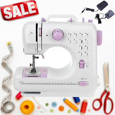 £29.99 • Buy Electric Overlock Sewing Machine Small Household Sewing Tool 2 Speed 12 Stitches