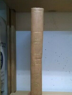 £100 • Buy Bound Set: The Architectural Review: Illustrated Journal: Vol 115: Jan-June 1954