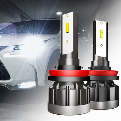 AU15.74 • Buy H8/H9/H11 LED Headlight 78W 96000LM Globe Beam Bulbs 6500K White Replace Halogen