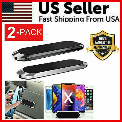 $ CDN3.47 • Buy Strip Shape Magnetic Car Phone Holder Stand For IPhone Magnet Mount Parts Gold