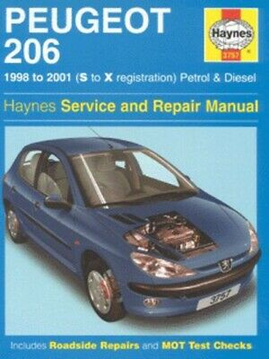 Haynes Service And Repair Manual Series: Peugeot 206: Service And Repair Manual • 3.31£