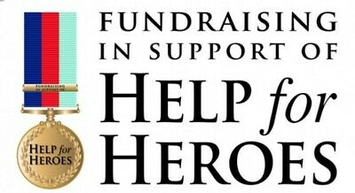 £13.99 • Buy Brand New & Sealed HELP FOR HEROES OFFICIAL PIN BADGE/WRISTBAND (Same Day DSPCH)