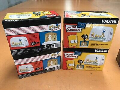 AU40 • Buy The Simpsons Collectors' Novelty Working Toaster