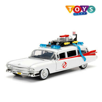 Metals 1:24 Die Cast Hollywood Rides Ghostbusters Ecto-1 Toy Car Brand New Uk • 34.99£