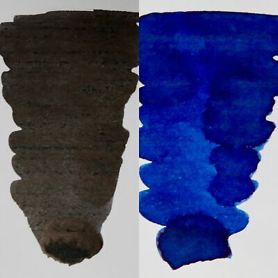 Blackbird Black & Kingfisher Blue - Fountain Pen Ink Pack • 12£