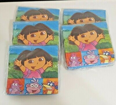 £6.18 • Buy Dora And Friends Beverage Napkins 5 Packs With 16 Napkins Per Pack