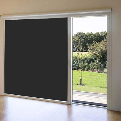 Static Cling Window Film Glass Light Blocking Privacy Sticker Blackout Decal • 16.99£