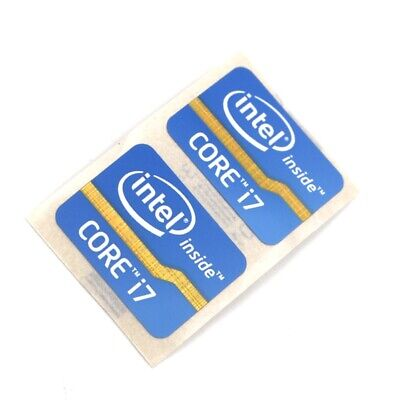 $ CDN6.31 • Buy 20X NEW Core I7 Inside Blue Sticker Case Laptop 24.5 X 18mm 2011Version ST021-2