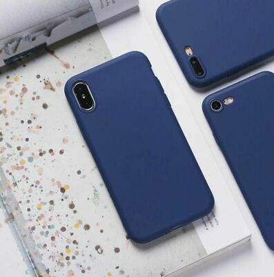 AU4.40 • Buy For Apple IPhone 8 7 Plus 6S 6 Silicone Case Soft Slim Gel Thin Protective Cover