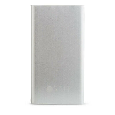 AU69.90 • Buy ORBIT POWERBANK PHONE BATTERY CHARGER 5000mAh POWER BANK IPHONE ANDROID SILVER