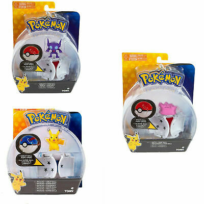 Pokemon Throw N Pop Tomy Poke Ball Sableye Ditto Pikachu Action Toy For Kids 3+ • 11£