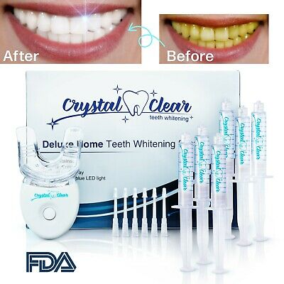 $ CDN52.87 • Buy Crystal Clear Teeth Whitening Kit USA - Snow & Hismile Comparable Quality