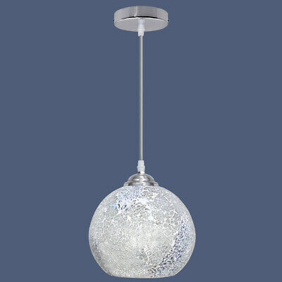Vintage Glass Globe Ceiling Hanging Pendant Light Shade Mosaic Lighting M0103 • 23.99£