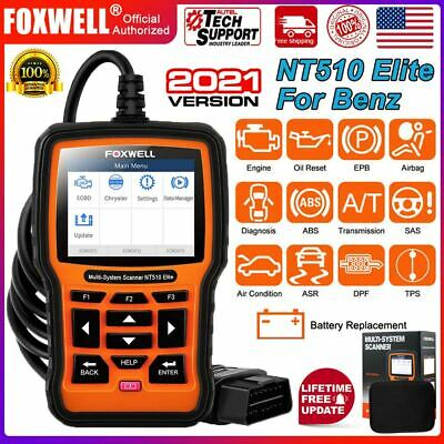 $139 • Buy For MERCEDES BENZ NT510 OBD Auto Diagnostic Scanner Tool ABS SRS EPB Code Reader