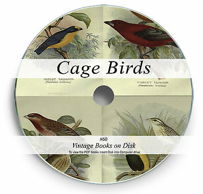 £3.90 • Buy Rare Cage Birds Books On DVD - Aviary Parrot Canary Finch Budgie Mating Breed 60