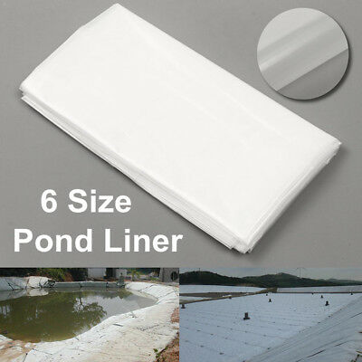 2m/6.5ft White Fish Pond Liner Garden Pool HDPE Membrane Reinforced  U • 14.58£