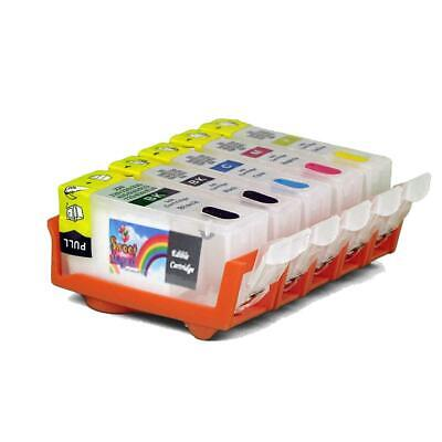 £21.46 • Buy Edible Ink Printer Cleaning Cartridges Canon CLI-271 PGI-270 5 Pack Refillable