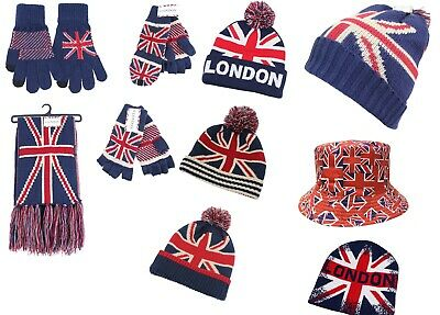 £6.99 • Buy All New The Union Jack/London Collection Gloves,hats,beanie,fishing Bucket;scarf