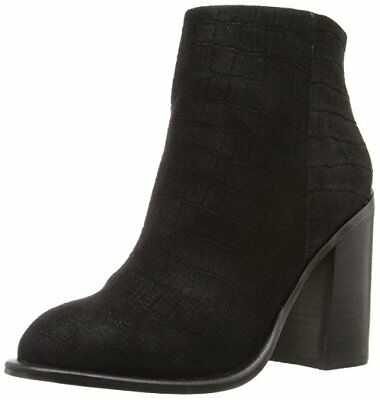 $ CDN52.88 • Buy $160 Size 9.5 Kelsi Dagger Brooklyn Huron Boots Black Leather Heels Ankle Bootie