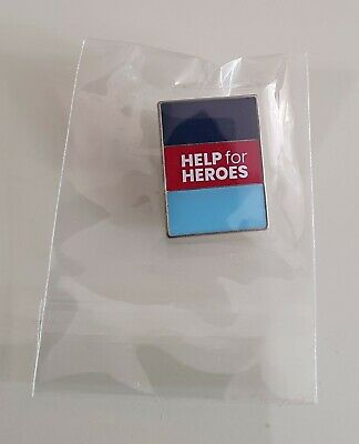 £9.99 • Buy Brand New & Sealed  HELP FOR HEROES OFFICIAL 2020 PIN BADGE (Same Day Dispatch!)