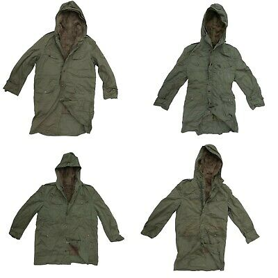 £29.50 • Buy French Army Parka With Cold Weather Liner Olive - Variety Of Sizes