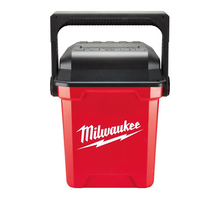 "View Details MILWAUKEE Jobsite 13"" Work Tool Box Durable Portable Lockable Storage Organizer • 54.99$"
