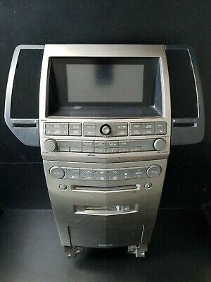 04-05-06 Nissan Maxima Radio 6 Disc Cd Navigation System Climate, 28188 Zk01a • 250$