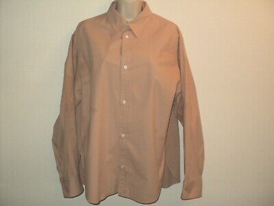 $34.97 • Buy NEW Zara Woman Size XL Shirt Peachy-Tan Front Buttoned Long Sleeves