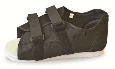 £18.99 • Buy Medical Post Op Shoe - Black Suitable For Men And Women Fits Left Or Right Foot