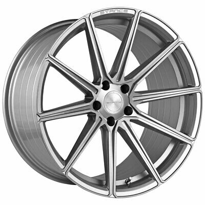 $1520 • Buy 20  Stance SF09 Silver 20x9 Concave Forged Wheels Rims Fits Jaguar S-Type