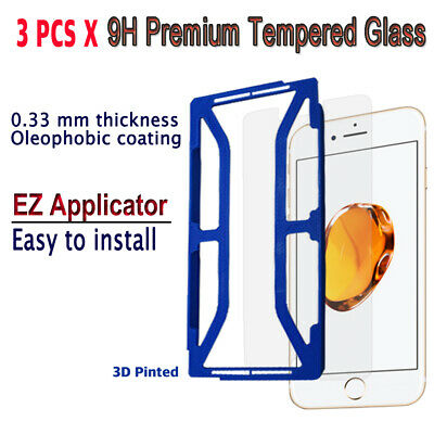 AU10.23 • Buy 3pcs X Tempered Glass Screen Protector With EZ Applicator For IPhone 7S/ 7 I7G3