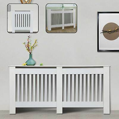 £25.99 • Buy White Radiator Cover Grill Shelf Cabinet MDF Wood Modern Traditional  Furniture