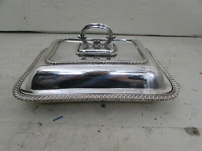 Victorian Hukin & Heath Silver Plated Entree Serving Dish • 44.95£