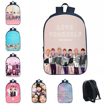 $23.39 • Buy Bangtan Boys BTS Love Yourself Backpack Shoulders Bag School Bag Laptop Bag Gift