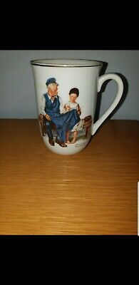 $ CDN6.90 • Buy Vintage 1982 Norman Rockwell Museum   The Lighthouse Keeper's Daughter  Cup Mug