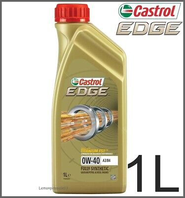 Castrol Edge Titanium 0w-40 FST A3/B4 Fully Synthetic Car Engine Oil - 1 Litre • 12.79£