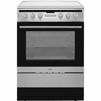 Amica 608CE2TAXX Free Standing A Electric Cooker With Ceramic Hob 60cm • 309£